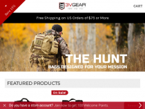 3V Gear FREE Shipping Code On $75+ Order