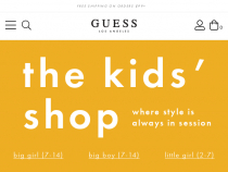 Guess Kids Promo Code FREE Shipping On Orders Of $75+