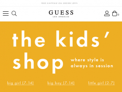 Guess Kids Promo Code