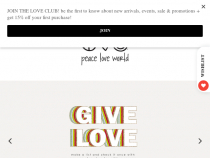 FREE Shipping On $100+ Online Order At Peace Love World