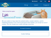 PetSafe.net Coupon 10% OFF + FREE Shipping On ScoopFree Litter Tray