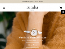 15% OFF On First Rumbatime Order + FREE Shipping