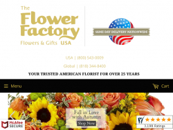 The Flower Factory Coupon