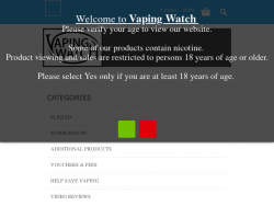 Vaping Watch Coupon