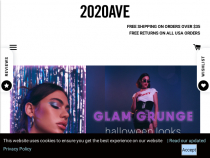 FREE Shipping On 2020AVE Purchase More Than $50