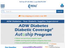 Extra 5% OFF Products You Use The Most With ADW Diabetes