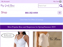 Bigger Bras Coupons FREE Gift