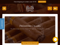 FREE Shipping On $199+ Orders At BnB Tobacco