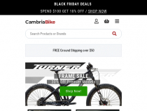 FREE $250 Gift Certificate on $4500+ Order At Cambria Bike