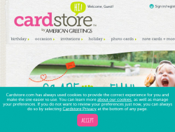 Cardstore Coupon