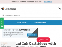 ComboInk 15% OFF Coupon With Email Sign-Up