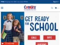 Cookies Kids $5 OFF + FREE Shipping $75 AND $15 Credit On $99+