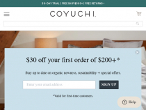 Coyuchi Promo Code FREE Shipping On $100+