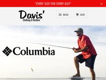 Davis Big And Tall Coupons Extra 15% OFF Sale Prices