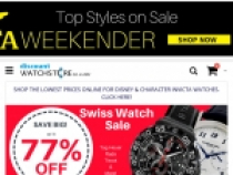 Up To 80% OFF On Clearance Products At Discount Watch Store