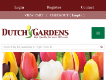 Up To 70% OFF on 2016 Spring Sale At Dutch Gardens