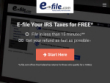 Up To 50% Less Than Other Sites At E-file