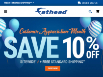 Fathead.com Promo Code: $15 OFF $50+ For Email Sign Up