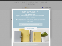Filofax Promotional Code 30% OFF On Curated Sale
