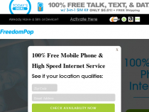 Unlimited Nationwide WiFi From FreedomPop