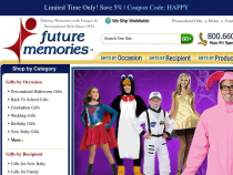 FREE Shipping Rebate On Selected Products At Future Memories