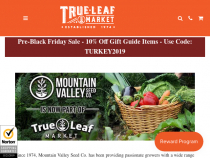 Generic Seeds Coupon Promotion: Seeds From $1.39