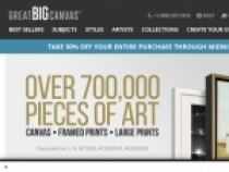 10% OFF On Entire Purchase At Great Big Canvas