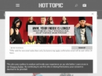 10% OFF With Hot Topic Email Sign Up