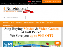 INetVideo Canada Coupon 91% 0FF