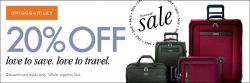 IRVs Luggage Coupon