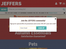 Jeffers Coupon Free Shipping