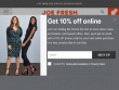 Up To 50% OFF Sale At Joe Fresh Canada