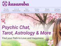 Kasamba Coupon Code 3 FREE Mins + 50% OFF Psychic-Reading Session