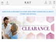 Up To 50% OFF Clearance At Kay Jewelers