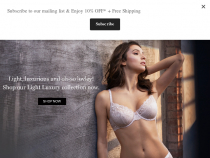 LeMystere Coupon FREE Shipping On All Orders