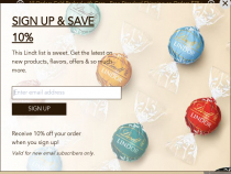 Just $15 For Lindt Signature Boxed Chocolates With Purchase Of $30+