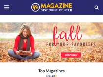Magazine Discount Center Coupon Up To 93% OFF Cover Price