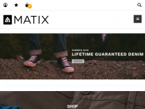 FREE Shipping On Any Purchase Over $50 At Matix Clothing