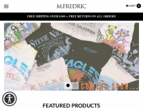 M Fredric Coupon Up To 50% OFF Sale Items