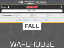Motosport.com Coupon: Up To 90% OFF On Clearance
