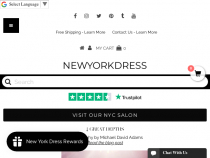 FREE Shipping On Any Order Of $49+ At New York Dress
