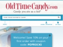 Old Time Candy Company Coupon Free Shipping