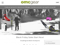OMCgear Coupon Code: 15% OFF All Orders