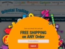 Oriental Trading Promo Codes For FREE Shipping