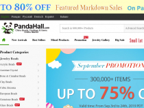 Pandahall Coupon $25 OFF $299 Sitewide