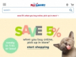 20% OFF On First Auto Ship Order At Petsmart