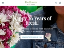 $10 OFF + FREE Gift On 20 Assorted Tulips At Proflowers