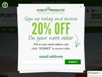 Purity Products Coupons FREE Bottle Of Green Tea CR