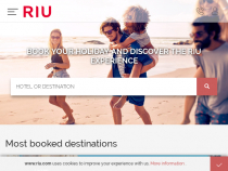 Up To 55% OFF Flight + Hotel Packages At RIU