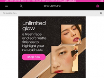 FREE Shipping On Orders Of $50 Or More At Shu Uemura